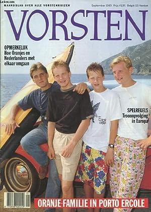 VORSTEN, SEPT. 1989 (Inhoud: Oranje-familie in Porto: COLLECTIF