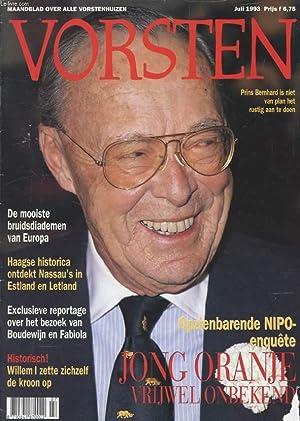 VORSTEN, JULI 1993 (Inhoud: Opzienbarende NIPO-enquêten Jong: COLLECTIF