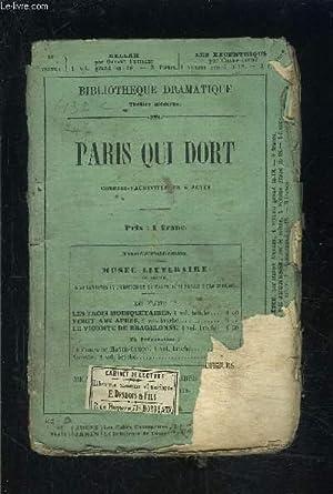 PARIS QUI DORT- SCENES DE LA VIE NOCTURNE EN 5 ACTES: DELACOUR- THIBOUST