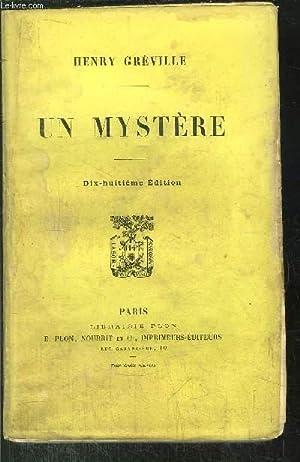 UN MYSTERE: GREVILLE HENRY