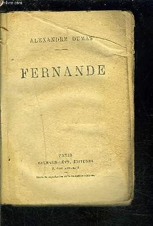 FERNANDE: DUMAS ALEXANDRE