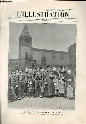 L'ILLUSTRATION JOURNAL UNIVERSEL N° 3289 - Gravures: les inventaires dans la Haute-Loire (...