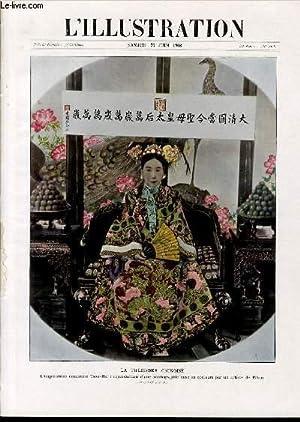 L'ILLUSTRATION JOURNAL UNIVERSEL N° 3408 - Gravures: la théodora chinoise, l'...
