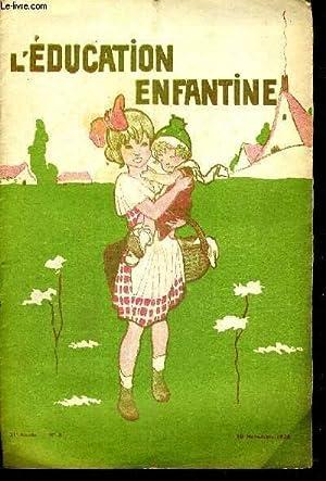 L'EDUCATION ENFANTINE - N°3 - 21E ANNEE: COLLECTIF