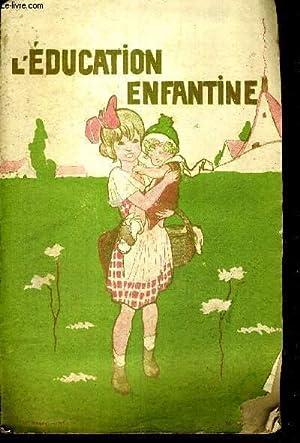 L'EDUCATION ENFANTINE - N°6 - 21E ANNEE - PROPRETE - PARLONS DU LAIT - LA MERE TROP FABLE ...