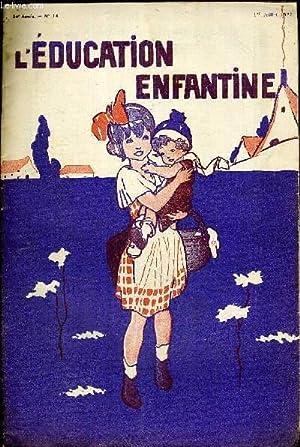 L'EDUCATION ENFANTINE - N°14 - 24E ANNEE: COLLECTIF