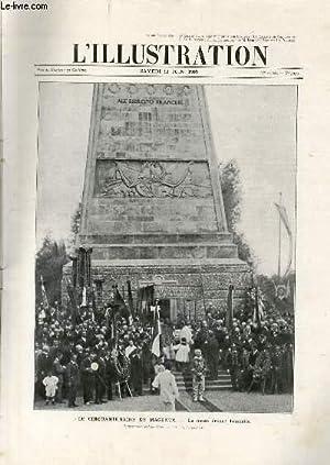 L'ILLUSTRATION JOURNAL UNIVERSEL N° 3459 - Gravures: le cinquantenaire de Magenta, la messe ...