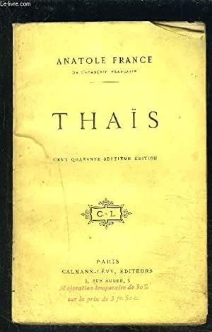 THAIS: FRANCE ANATOLE