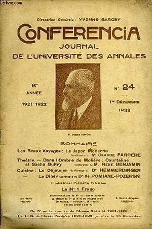 CONFERENCIA 16e ANNEE N°24 - Les Beaux Voyages : Le Japon ModerneConférence de M. Claude...