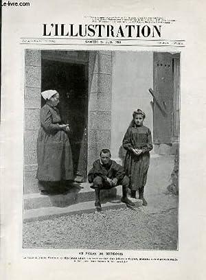 L'ILLUSTRATION JOURNAL UNIVERSEL N° 3564 - Gravures: au phare de Kerdonis - la bataille ...