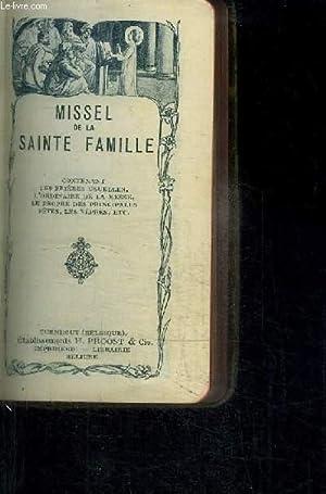 MISSEL N°2207 - DE LA SAINTE FAMILLE: COLLECTIF