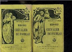 MEMOIRES DU CHEVALIER DE FAUBLAS - TOME 1 + 2 EN 2 VOLUMES: CHEVALIER DE FAUBLAS