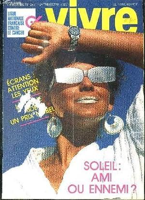 REVUE VIVRE -N°251 - 1986 - SOLEIL: COLLECTIF