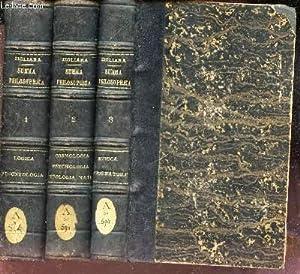 SUMMA PHILOSOPHICA - EN 3 VOLUMES (Tomes: ZIGLIARA F. THOMA