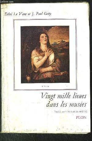 VINGT MILLE LIEUES DANS LES MUSEES: LE VANE ETHEL - GETTY J.PAUL