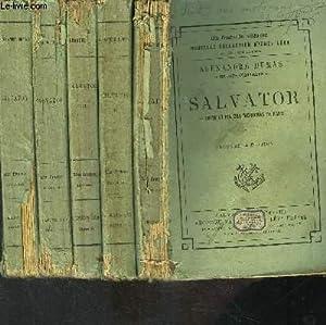 SALVATOR- 5 TOMES EN 5 VOLUMES- SUITE ET FIN DES MOHICANS DE PARIS: DUMAS ALEXANDRE