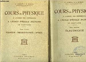COURS DE PHYSIQUE A L'USAGE DES CANDIDATS A L'ECOLE SPECIALE MILITAIRE DE SAINT-CYR - ...
