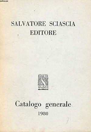 SLAVATORE SCIASCIA EDITORE, Catalogo Generale 1980: COLLECTIF