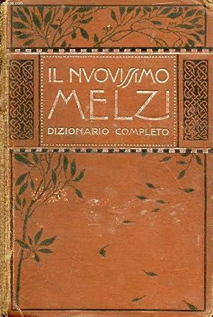 IL NUOVISSIMO MELZI, DIZIONARIO COMPLETO: MELZI G. B.