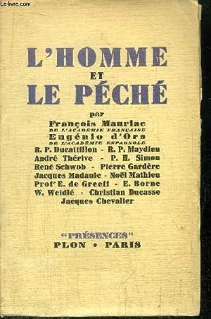 L'HOMME ET LE PECHE: MAURIAC FRANCOIS