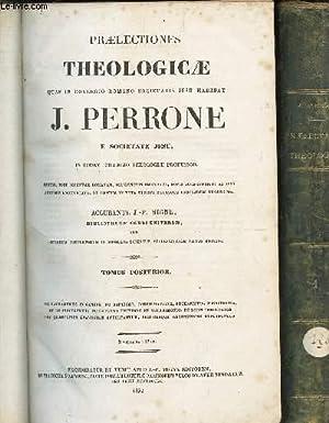 PRAELECTIONES THEOLOGICAE QUAS IN COLLEGIO ROMANO SOCIETATIS: MIGNE J.P.