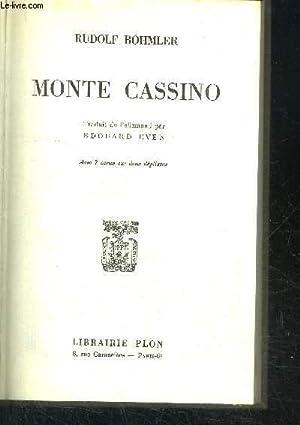 MONTE CASSINO: BOHMLER RUDOLF
