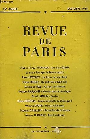 REVUE DE PARIS 55e ANNEE - Jérôme: COLLECTIF