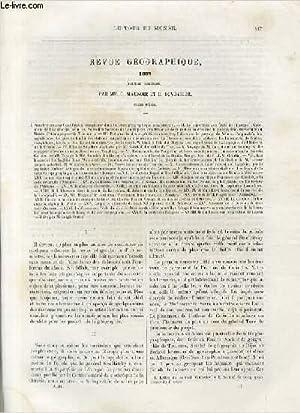 Le tour du monde - nouveau journal des voyages - revue géographique 1882 - (premier semestre...