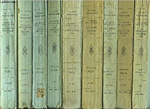 AU SERVICE DE LA FRANCE - 9 VOLUMES - TOMES I+II+III+IV+V+VI+VII+VIII+IX / Sommaire des titres : Le...