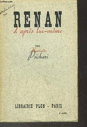 RENAN D'APRES LUI-MEME: PSICHARI HENRIETTE