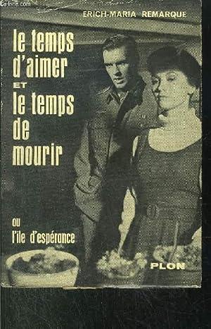 LE TEMPS D'AIMER ET LE TEMPS DE MOURIR: REMARQUE ERICH-MARIA