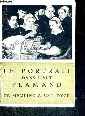LE PORTRAIT DANS L'ART FLAMAND - DE: COLLECTIF