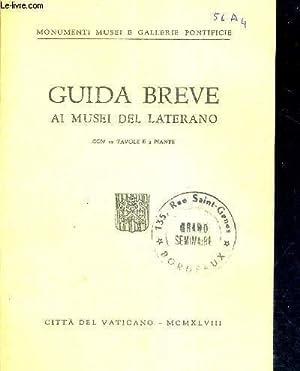 GUIDA BREVE AI MUSEI DEL LATERANO -: COLLECTIF