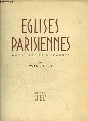 EGLISES PARISIENNES ACTUELLES ET DISPARUES: CHRIST YVAN