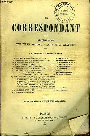 LE CORRESPONDANT TOME 38 N° 155 - I.— VINGT MOIS DE CAPTIVITÉ DANS UNE ILE DÉ...