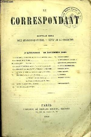 LE CORRESPONDANT TOME 44 N° 189 - I. — L'HOMME AU MASQUE DE FER, d'aprèsdes documentsin&...