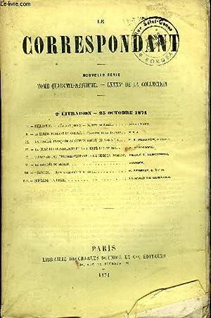 LE CORRESPONDANT TOME 49 N° 218 - I. — FLEURANGE. — L'Épreuve (suite). — Au bord du ...