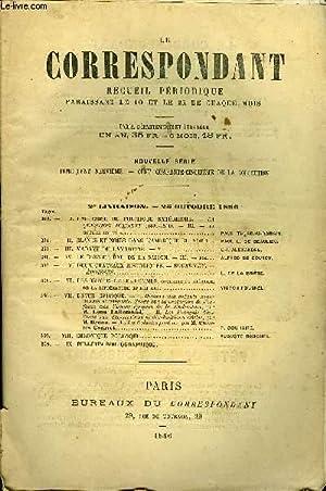 LE CORRESPONDANT TOME 109 N° 578 - I. UNE CRISE DE POLITIQUE EXTÉRIEURE. — LA QUESTION D...