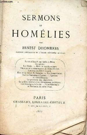 SERMONS ET HOMELIES - Le cri d'Asaph: DHOMBRES ERNEST