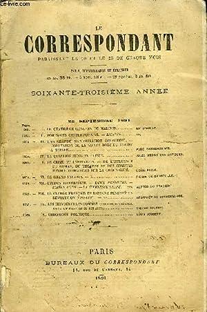 LE CORRESPONDANT TOME 128 N° 696 - I.LE QUATRIÈME CONGRÈS DE MALINES. Mgr D'...