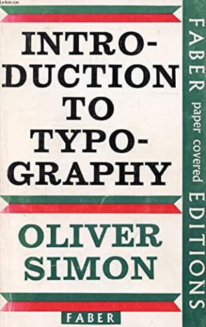 INTRODUCTION TO TYPOGRAPHY: SIMON OLIVER