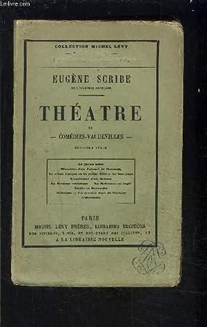 THEATRE- TOME 11- vendu seul- COMEDIES VAUDEVILLES-: SCRIBE EUGENE