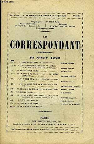 LE CORRESPONDANT TOME 268 N° 1533 -: COLLECTIF