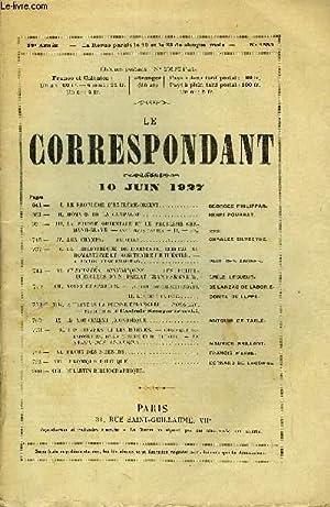 LE CORRESPONDANT TOME 271 N° 1553 - I. LE PROBLÈME D'EXTRÊME-ORIENT.GEORGES ...