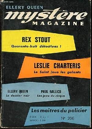 MYSTERE MAGAZINE MARS 1965 - LES MAITRES: COLLECTIF