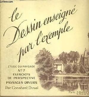 LE DESSIN ENSEIGNE PAR L'EXEMPLE - ETUDE: DUVAL CONSTANT