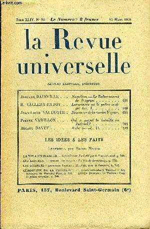 LA REVUE UNIVERSELLE TOME 44 N°24 -: COLLECTIF