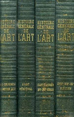 HISTOIRE GENERALE DE L'ART, 4 TOMES: HUISMAN GEORGES ET