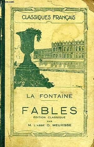 FABLES, SUIVIES D'UN CHOIX DE FABLES TIREES: LA FONTAINE, Par