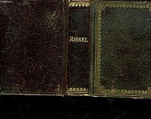 MISSEL DE JEANNE D'ARC PAROISSIEN ROMAIN CONTENANT: COLLECTIF